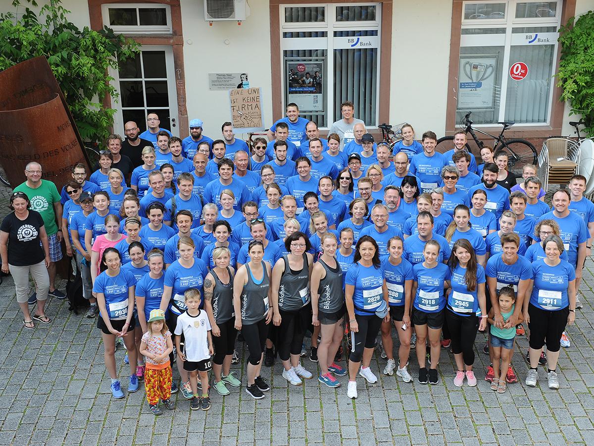 120 Uniläufer beim 2. Firmenlauf Südpfalz