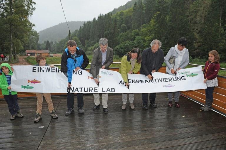 Forschungsstation Eußerthal: Auenbecken eröffnet und Nature Lab gestartet