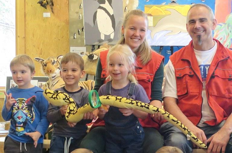 Grundschullehrerin Heide Sasse ergänzt das Zooschulteam