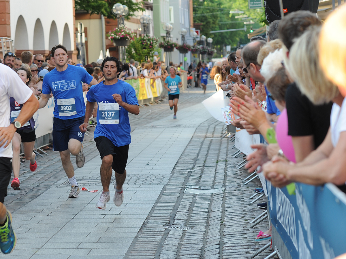 Läufer 2 im Ziel