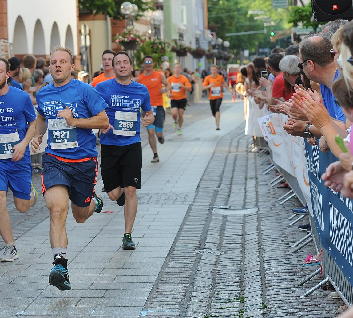 3. Läufer im Ziel