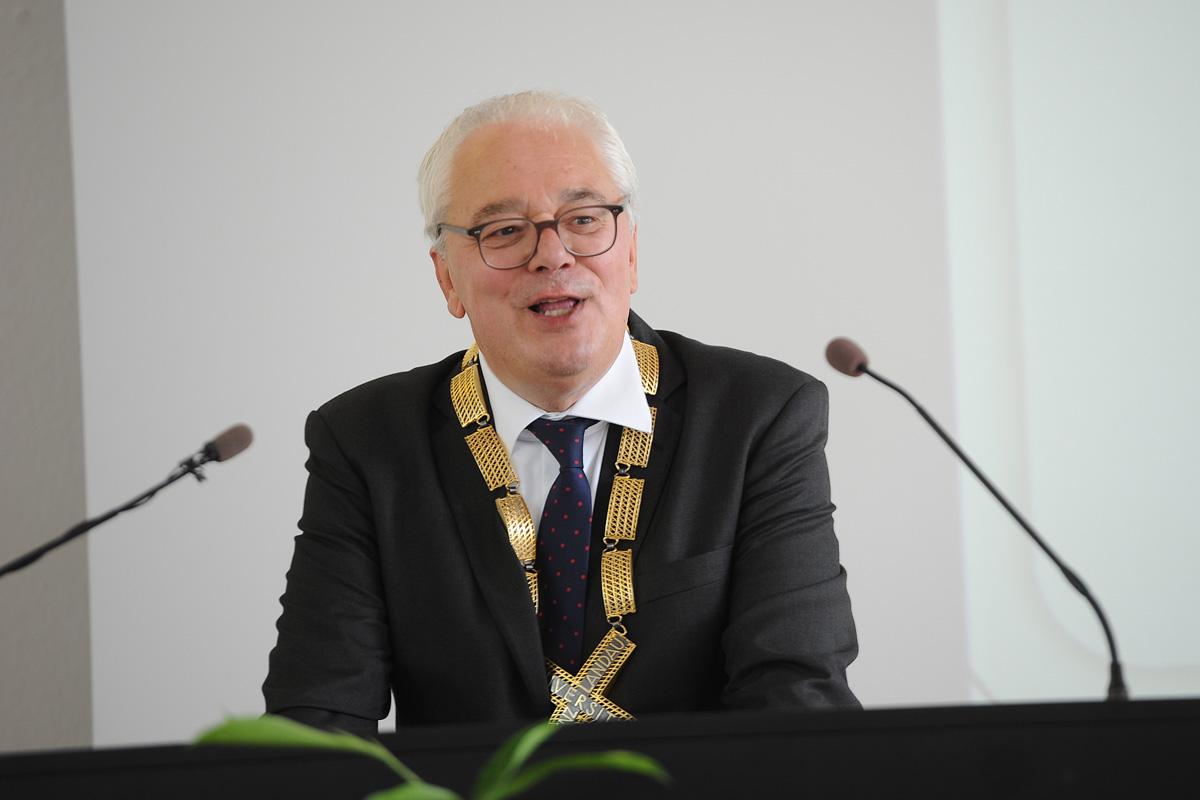 Übergabe des Präsidentenamtes: Prof. Dr. Heiligenthal
