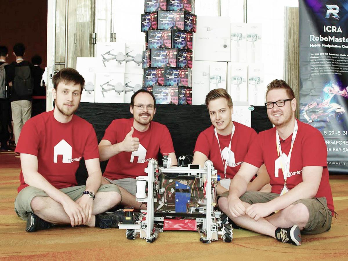 """""""Maggie"""" erfolgreich bei RoboMasters Wettbewerb in Singapur"""