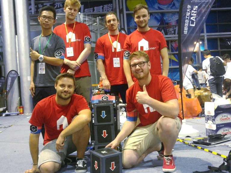2. Preis bei DJI Robomasters Technical Challenge in China