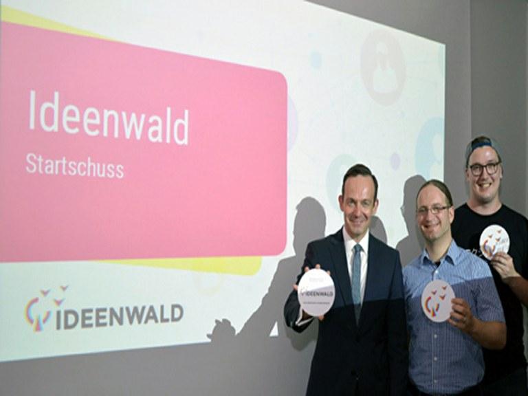 Erste Kampagne im IDEENWALD sucht Unterstützer - Ausgründung der Universität in Koblenz startet durch
