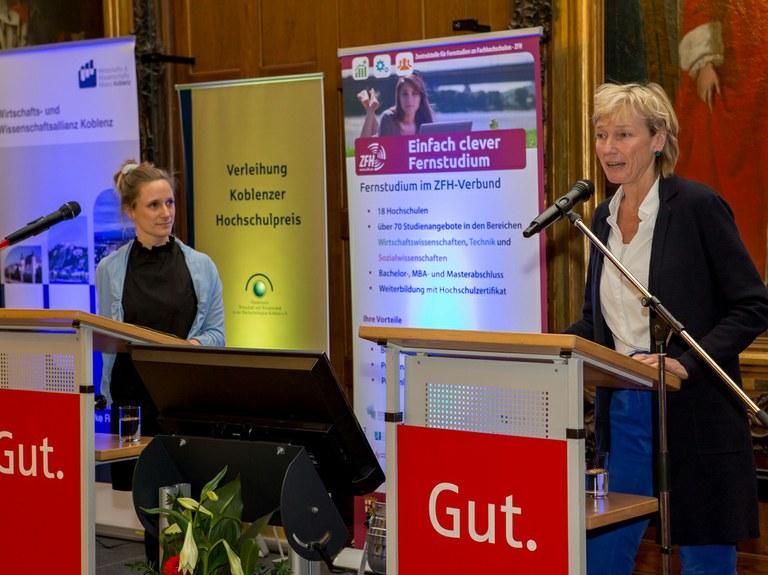 Zwei Doktoren der Universität mit Koblenzer Hochschulpreis prämiert