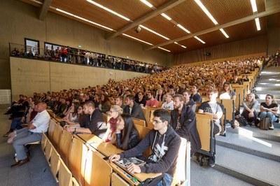 1.400 Neu-Studierende starten zum Wintersemester 2018/19. Foto: Thomas Frey