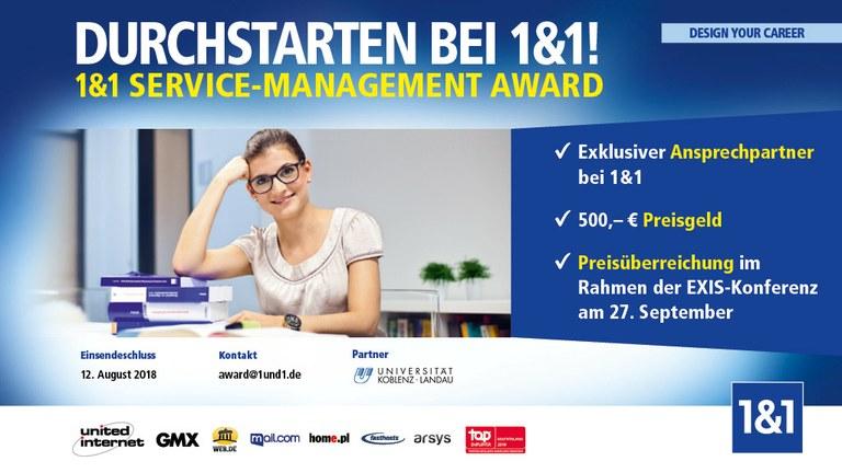 Gesucht: Die beste Abschlussarbeit im Bereich Service Management