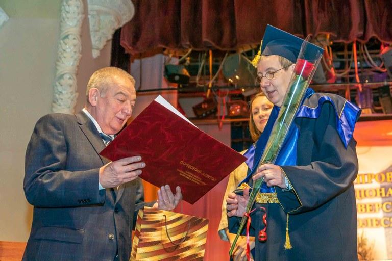 Ehrendoktorwürde für Universitätspräsidentin Kallenrode