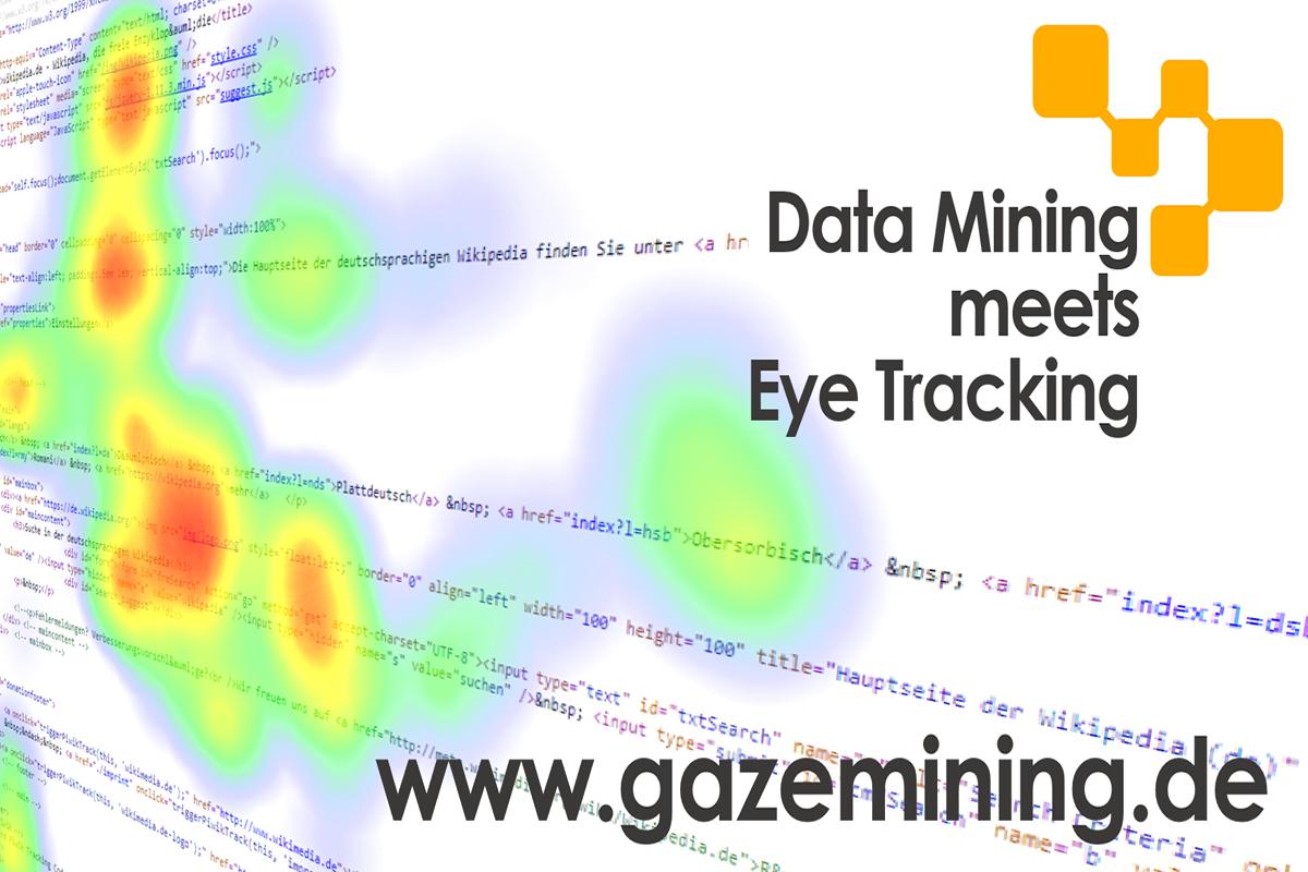 Forschungsprojekt GazeMining entwickelt Zukunft des Eyetrackings und bittet um Mithilfe