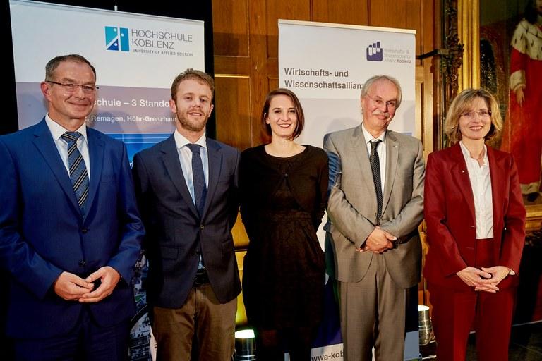 Zwei Doktoren der Universität Koblenz-Landau mit Hochschulpreis prämiert