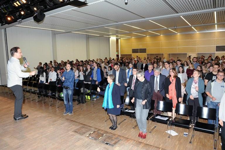 Immatrikulationsfeier: Universität heißt Erstsemester Willkommen