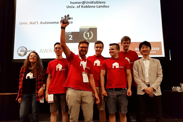 Roboter-Team Homer verteidigt Weltmeistertitel