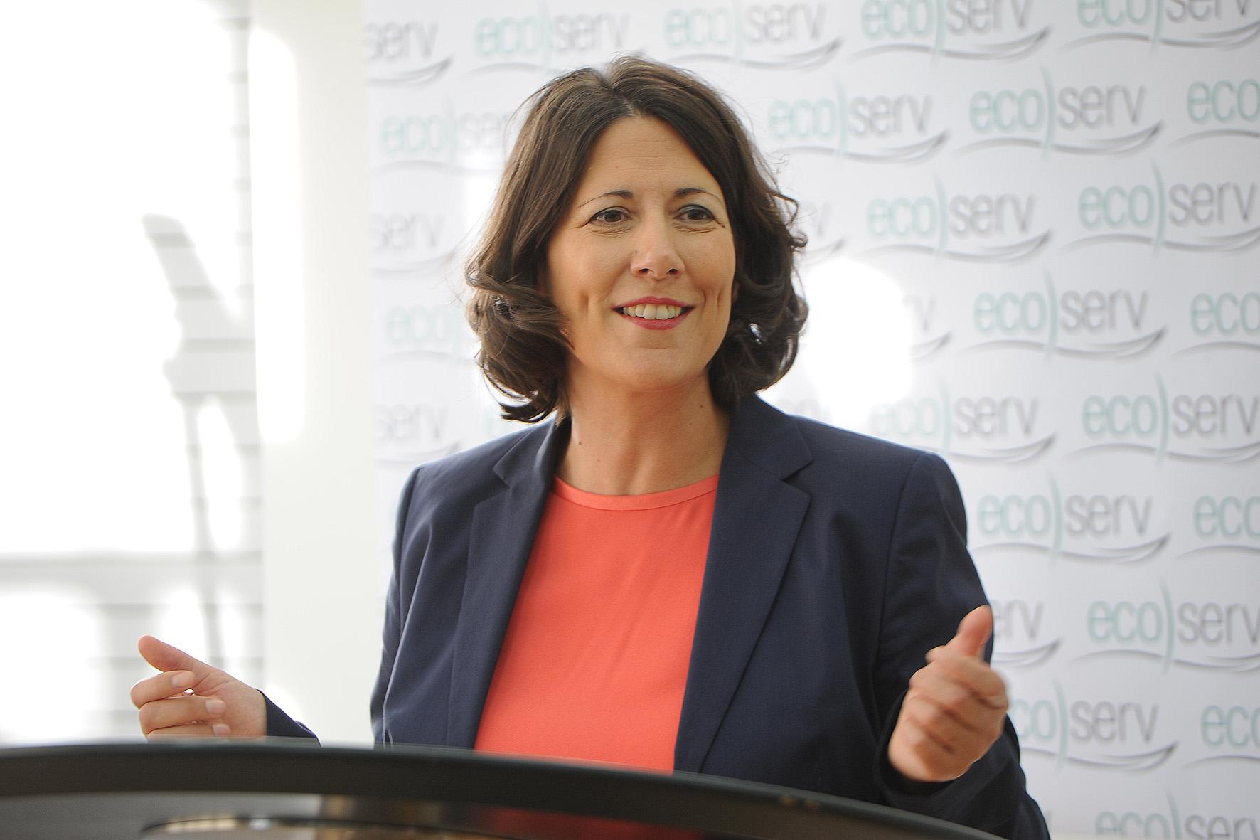 Wirtschaftsstaatssekretärin Daniela Schmitt. Foto: Karin Hiller