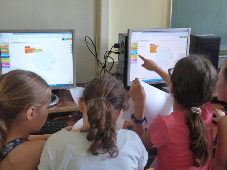 Erfolgreiche Premiere – Grundschüler werden zu Programmierern