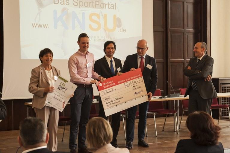 Sportwissenschaftler mit Award geehrt