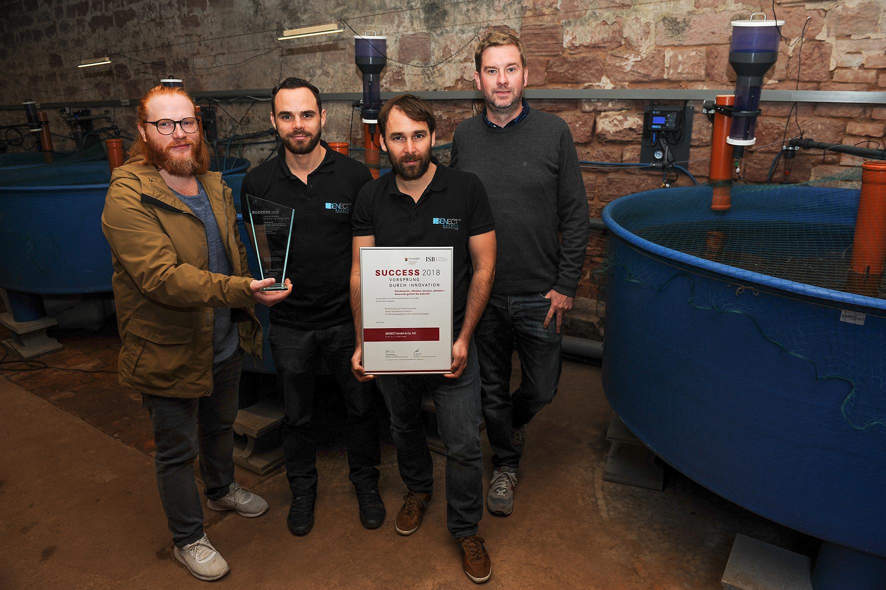 SUCCESS-Sonderpreis für Landauer Gründerteam SENECT