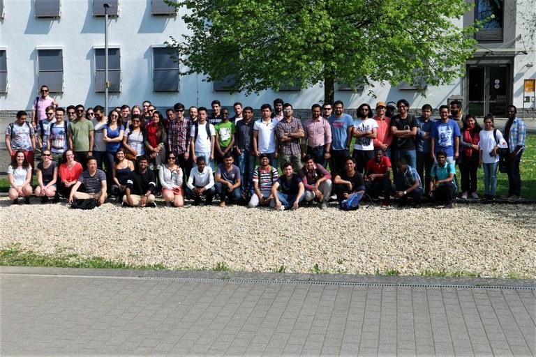 Rund 100 internationale Studierende haben sich zum Sommersemester 2018 am Campus Koblenz neu eingeschrieben.