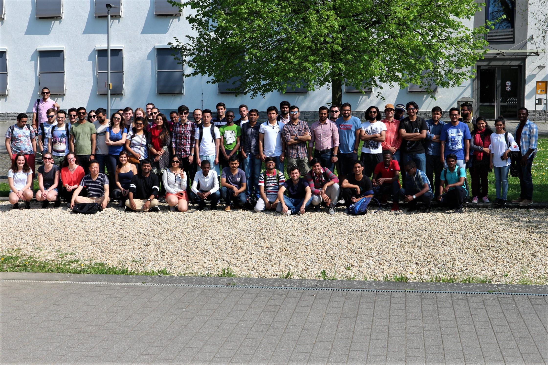 Universität Koblenz-Landau auch international beliebt