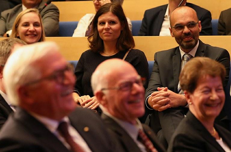 Prof. Dr. Christian Bermes Gast bei Bundespräsident Steinmeiers Grundsatzrede zur neuen politischen Streitkultur