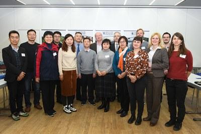 Landauer Grundwasserökologie goes East? Der Besuch der Delegation des Shandong-Provinzialinstituts für Wasserforschung könnte Auftakt einer Zusammenarbeit sein. Foto: Karin Hiller/Universität Koblenz-Landau