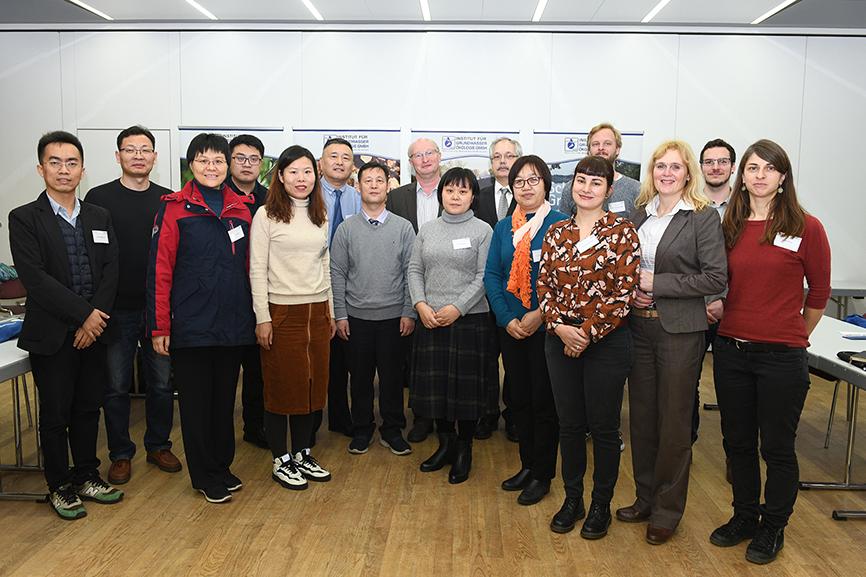 Grundwasserschutz: Chinesische Delegation zu Besuch am Campus Landau