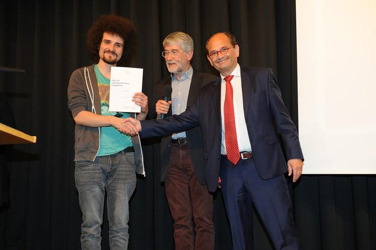 Campuskulturpreis: Studentisches Engagement ausgezeichnet
