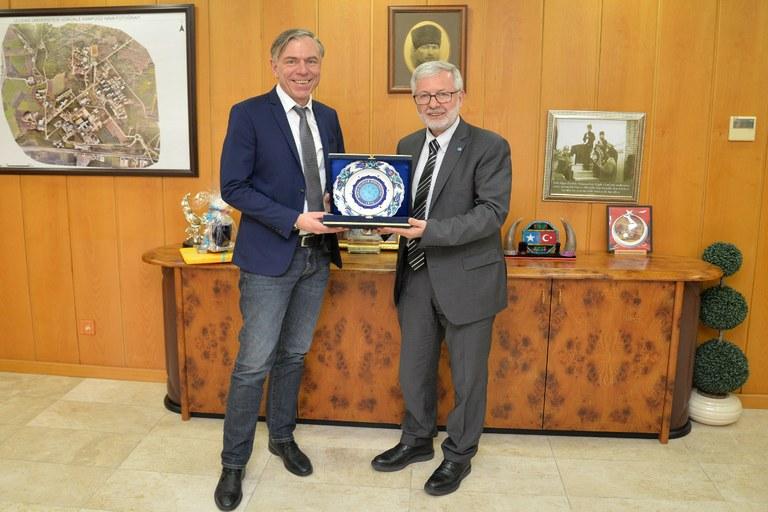 Die Universität Koblenz-Landau verstärkt die Zusammenarbeit mit der Uludag Universität in Bursa