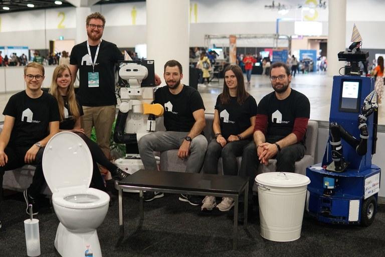 Einzug der Robotik-Helden - Feier für die vierfachen Weltmeister