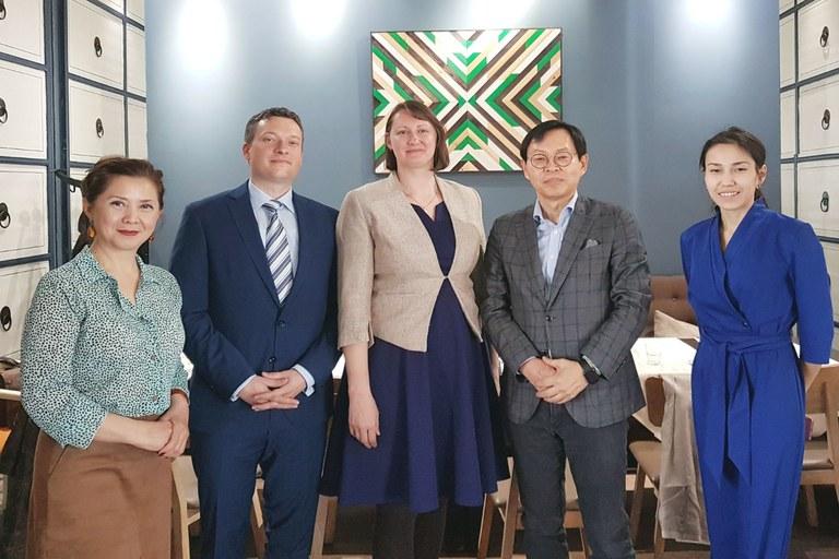 Kooperation mit KIMEP-Universität in Kasachstan