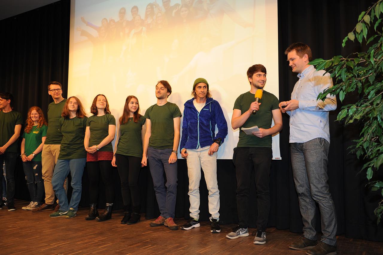 Preisträger des Campuskulturpreises 2018 Umweltgruppe
