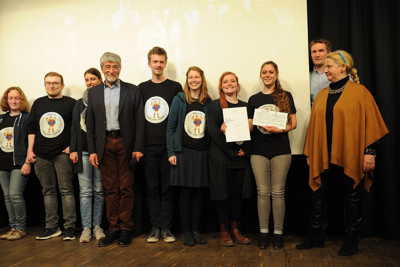 Preisträger des Campuskulturpreises 2018 Weihnachtsvorlesung