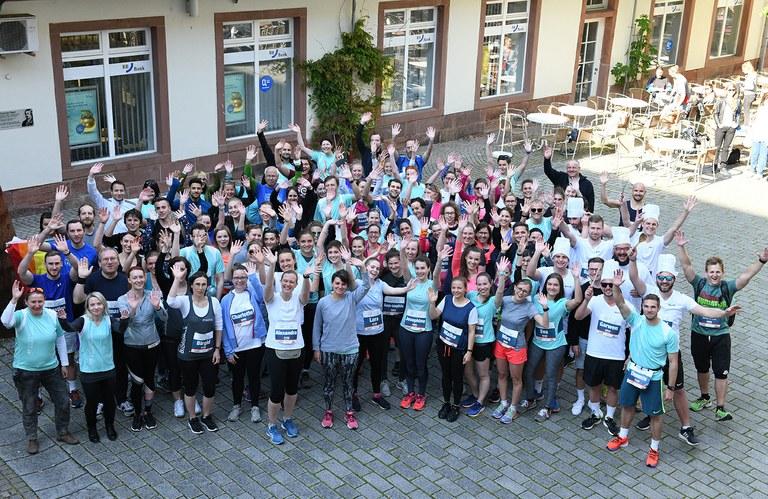 168 laufende Geistesblitze beim Firmenlauf Südpfalz