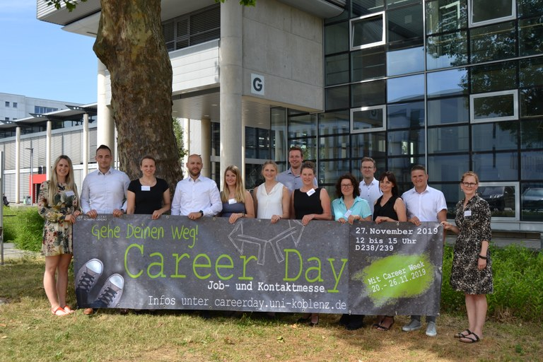 Treffen der Sponsoren des Career Day