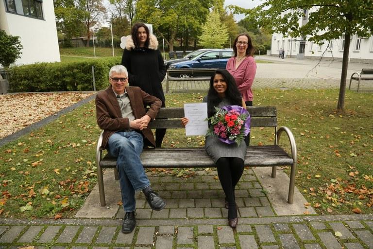 Indische Master-Studentin gewinnt DAAD-Preis