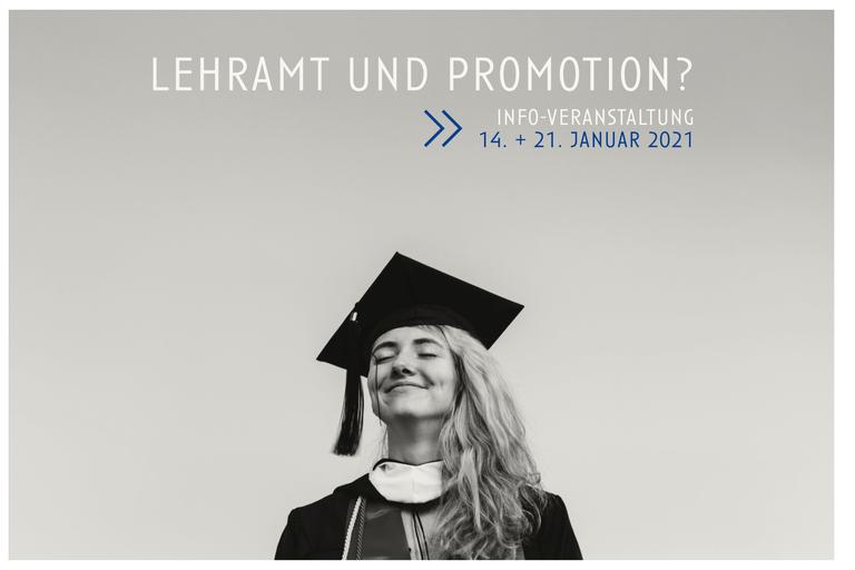 """IPZ und ZfL informieren über """"Lehramt und Promotion"""""""