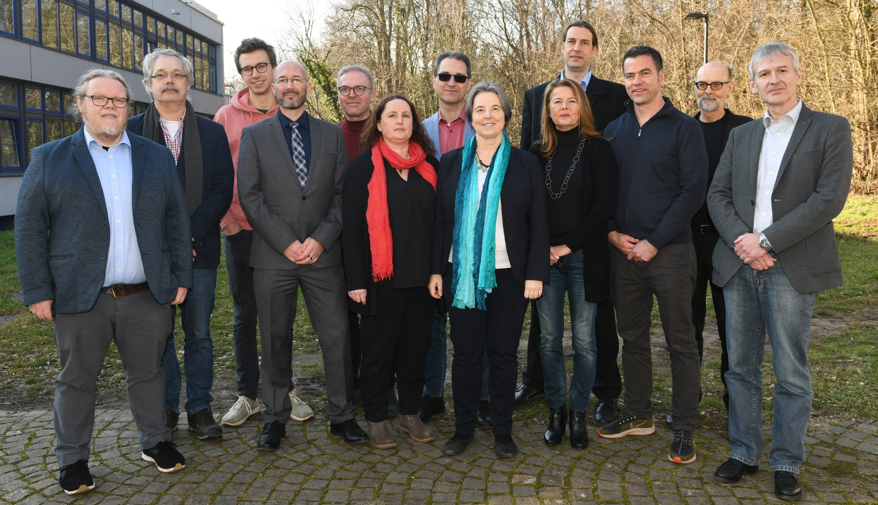Der neugegründete Senatsausschuss Landau. Quelle: Universität Koblenz-Landau
