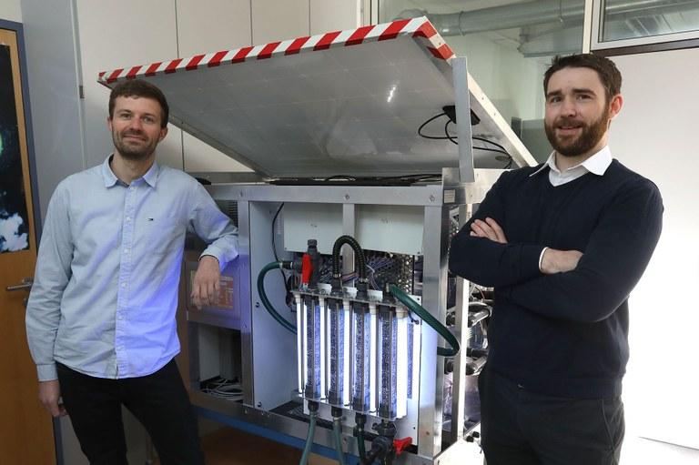 Prototyp entwickelt: Nachhaltige und abbaueffiziente Methode reinigt schädliche Abwässer aus dem Weinbau
