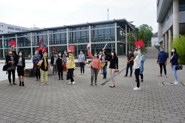 Absolventinnen der Brückenmaßnahme Bildung und Beratung gewürdigt