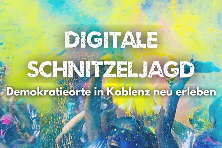 Demokratieorte in Koblenz neu erleben
