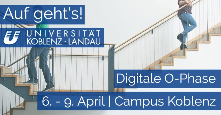 Digitale Orientierungsphase am Campus Koblenz startet am 6. April
