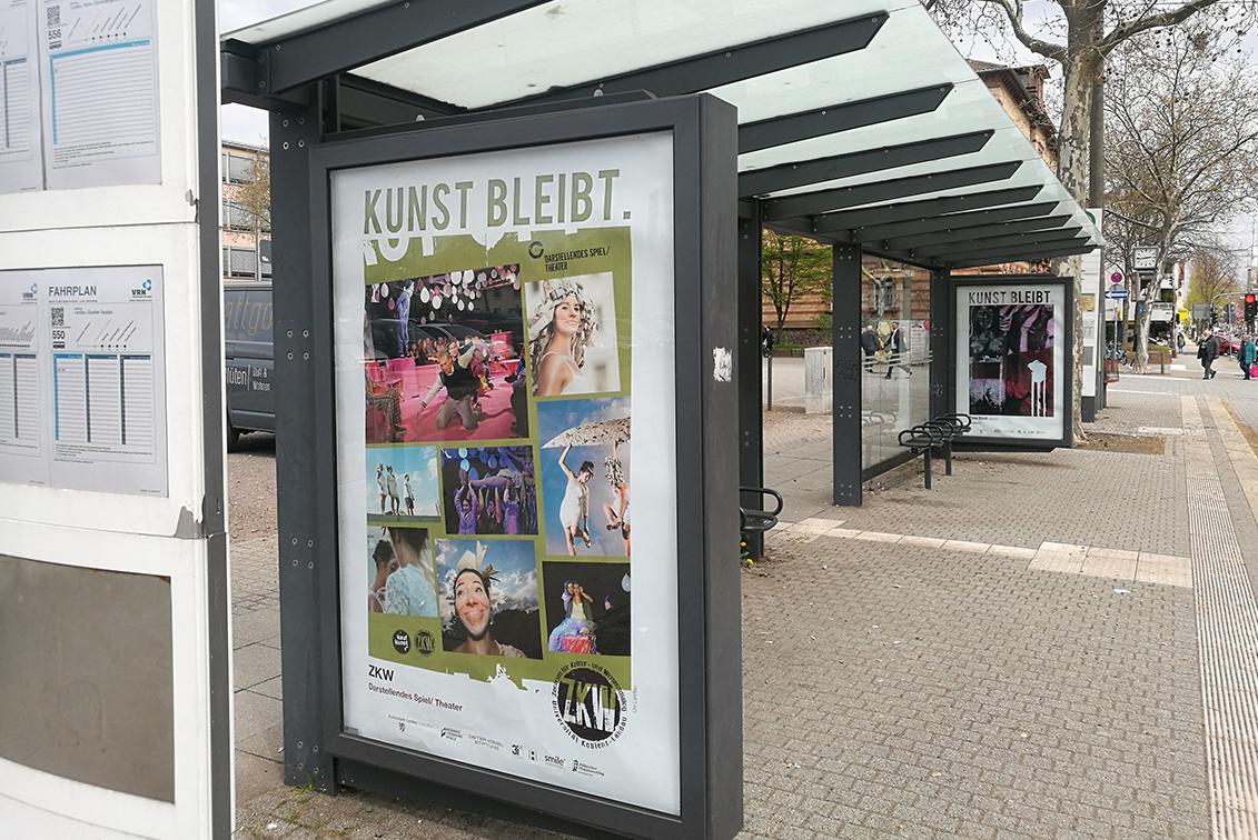 """ZKW beteiligt sich an Plakat-Aktion """"Kunst bleibt"""""""