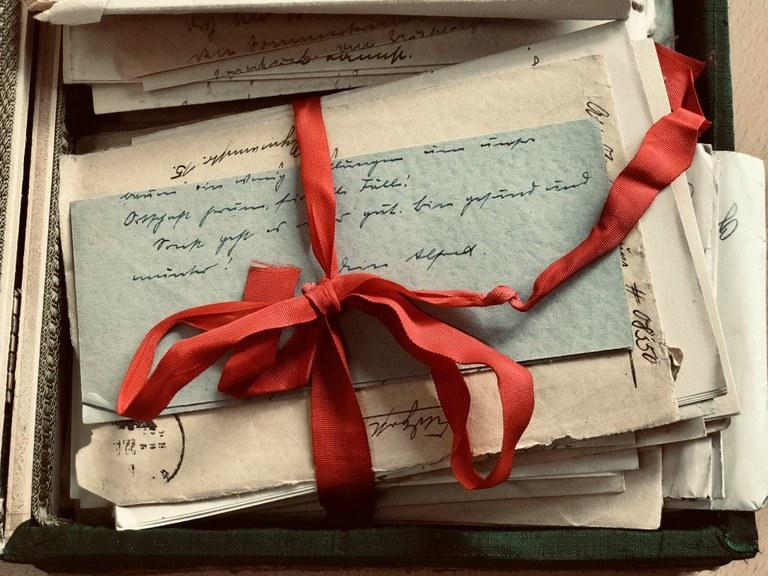 Liebesbriefe auf dem Jesuitenplatz
