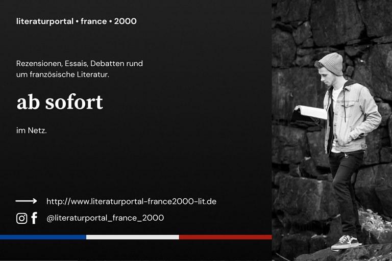 Frankreich lesend entdecken: Universität in Landau startet Literaturportal zur Gegenwartsliteratur
