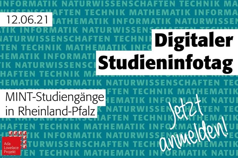 Digitaler MINT-Infotag für Schülerinnen am 12. Juni 2021