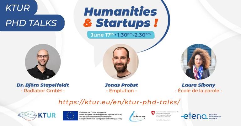Promotion und danach Unternehmensgründung? Jetzt zu den KTUR PhD-Talks anmelden!