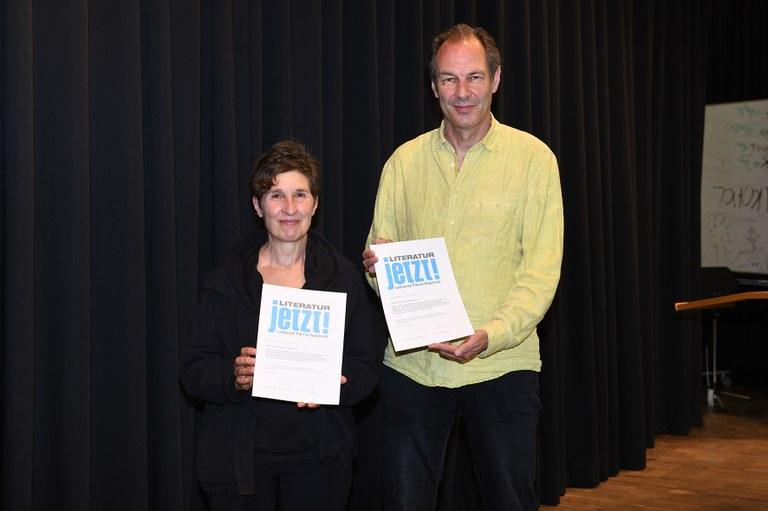 Landauer Poetik-Dozentur an Theaterduo Hans-Werner Kroesinger und Regine Dura für ihr politisches Dokumentartheater