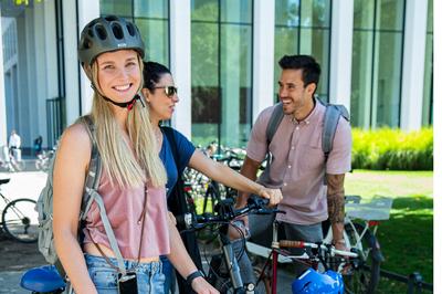 Beim  Stadtradeln werden 21 Tage lang möglichst viele Alltagswege klimafreundlich mit dem Fahrrad zurückzugelegt. Bild: Klima-Bündnis/Laura Nickel
