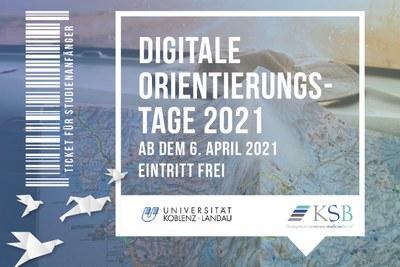 Pandemiebedingt gab es als Auftakt zur Vorlesungszeit für die Erstsemester digitale Orientierungstage. Foto: KSB/Universität Koblenz-Landau