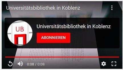 Youtubekanal UB Koblenz